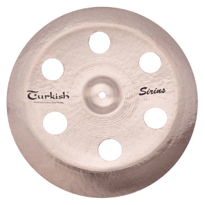 "Turkish Cymbals 18"" Effects Series Sirius China Holey SS-CHH18"