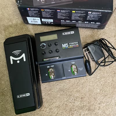 Line 6 M5 Stompbox Modeler With Pedal Mission EP1-L6-BK