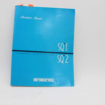 Ensoniq Musician's Manual SQ-1 Plus SQ-2 Personal Music Studio Book
