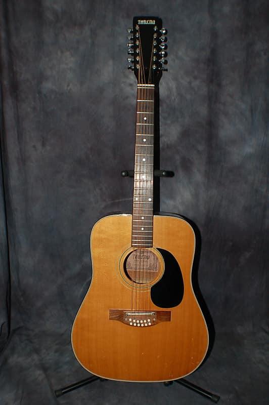 1971 toredo 12 string folk guitar pro setup easy player reverb. Black Bedroom Furniture Sets. Home Design Ideas
