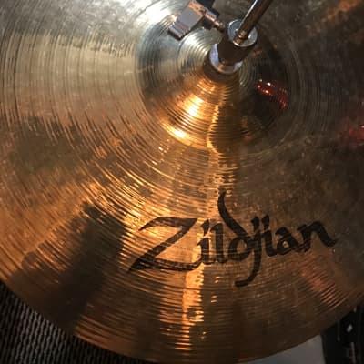 """ZILDJIAN S SERIES 14"""" ROCK HATS BRONZE PAIR"""