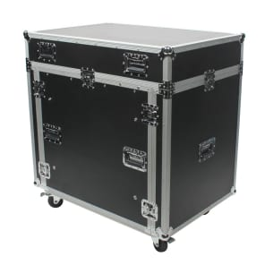 OSP PRE-2442-COMBO PreSonus 2442 Mixer ATA Combo Case with Rack Space and Doghouse