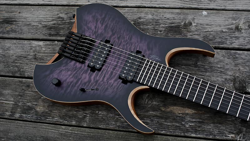 Mayones Hydra Elite 7 Custom 4a Qm Reverb