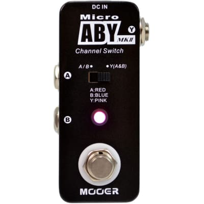 Mooer Audio Micro ABY MKII Channel Switch Pedal for sale