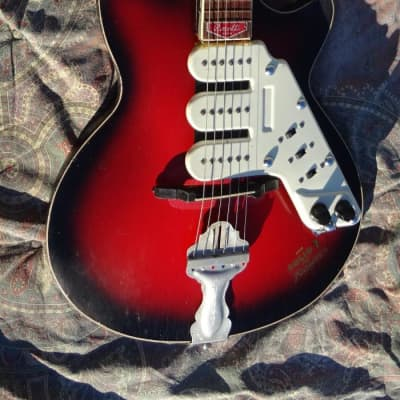 ROSETTI   SUPER SOLID 7 1960 Red Burst for sale