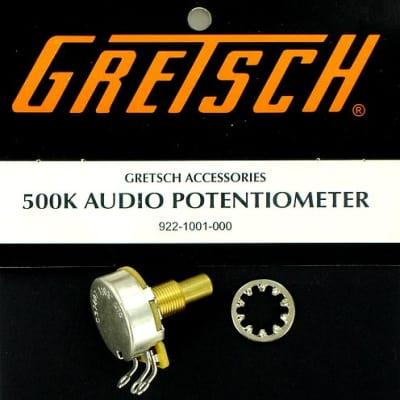 Gretsch 500K Audio Potentiometer Fits Most Gretsch Guitars 922-1001-000