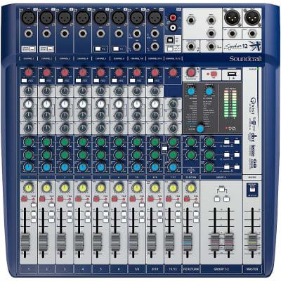 Soundcraft Signature 12 Analog Mixer Regular