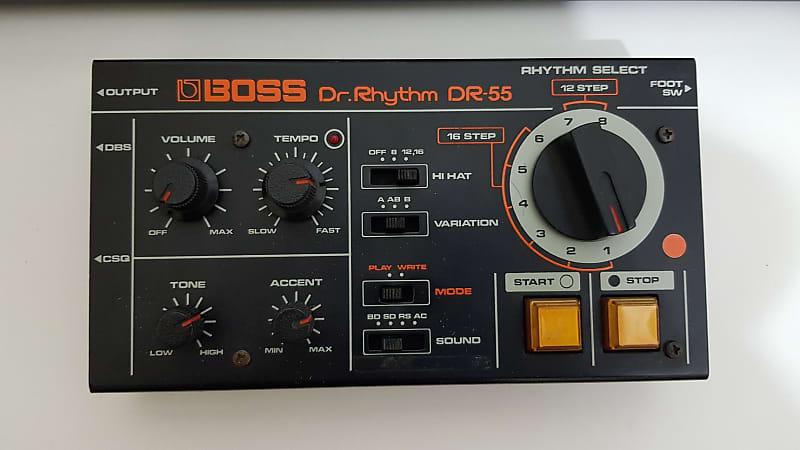 boss dr 55 vintage drum machine siahqalam reverb. Black Bedroom Furniture Sets. Home Design Ideas