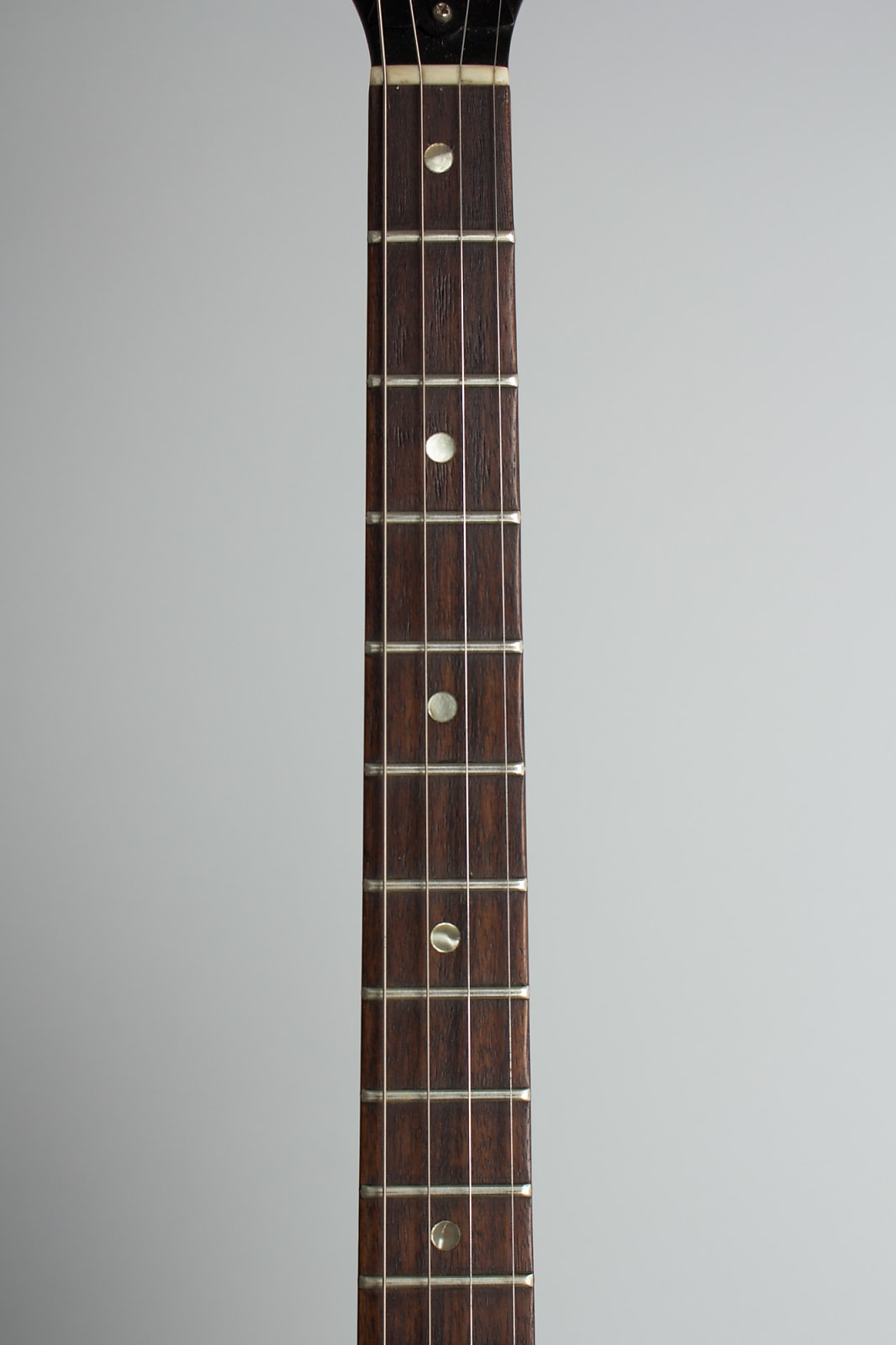 Gibson  TG-25 Flat Top Tenor Guitar (1965), ser. #514570, black hard shell case.