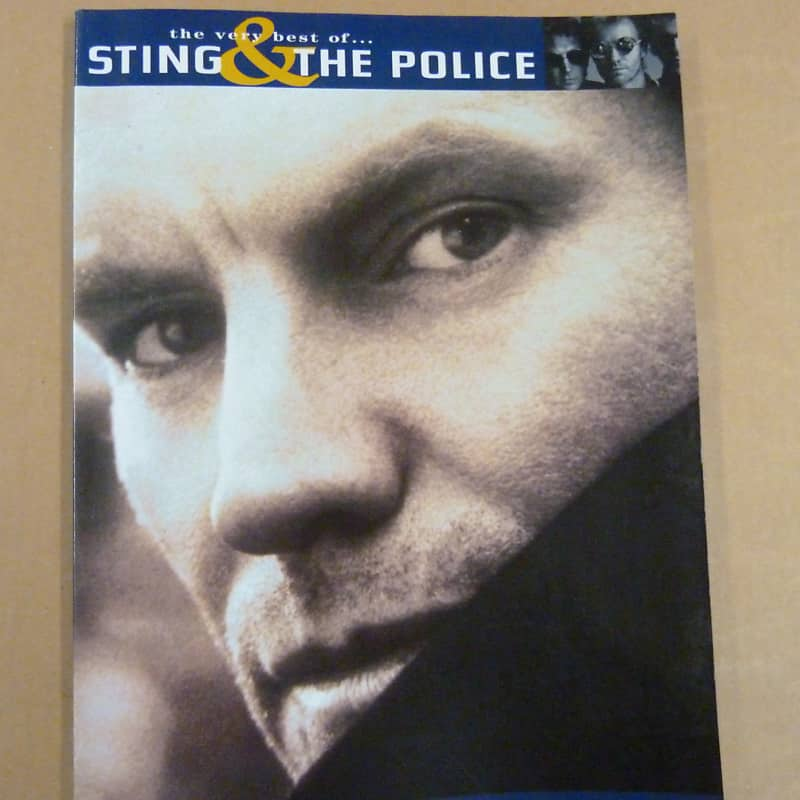 Songbook Sting The Police The Very Best Reverb