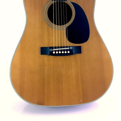 Rare Terada W601 1978 Acoustic Dreadnought MIJ Guitar Solid Spruce Top Mahogany Booming D18 Tone for sale