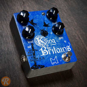 Menatone King Of The Britains Distortion Pedal