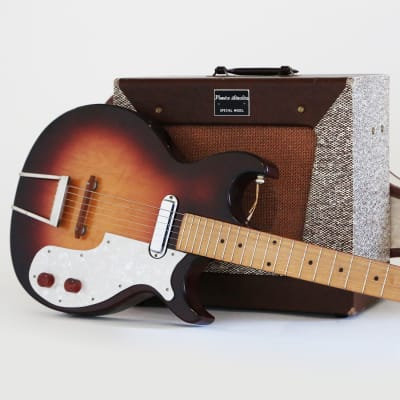 1959 Marvel Venice Studio Special Order Guitar & Amp Combo by Premier Multivox - Super Cool Set! for sale