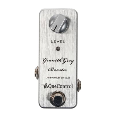 One Control Granith Grey Booster pedal for sale