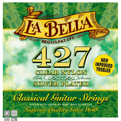 4 packs of LaBella 427 for sale