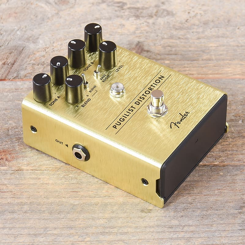 fender pugilist distortion pedal used reverb. Black Bedroom Furniture Sets. Home Design Ideas