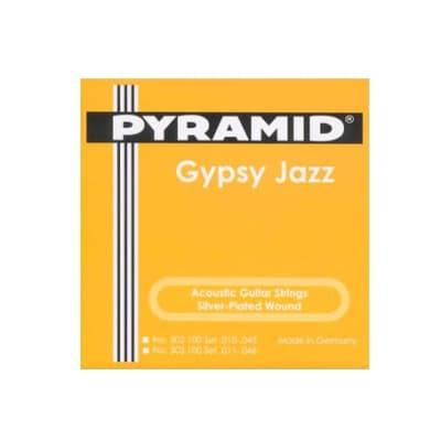 Pyramid Acoustic Guitar Gypsy Jazz Django Style Semi Light 10-45