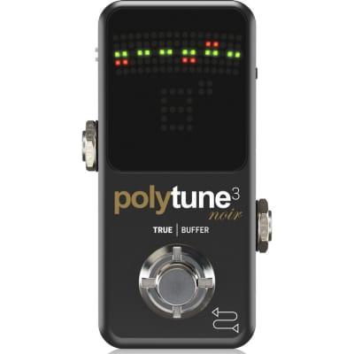 TC Electronic PolyTune 3 Noir accordeur polyphonique avec buffer for sale