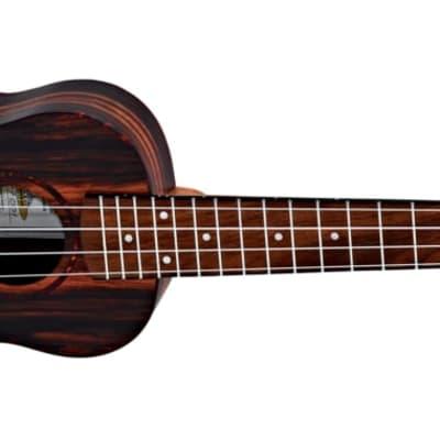 Ortega Ebony Series Acoustic Ukulele Concert