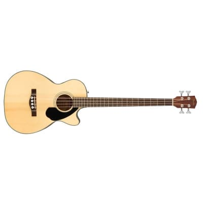 Fender CB-60SCE Classic Design Acoustic Bass, Natural for sale