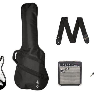 SQUIER - Stratocaster Pack  Laurel Fingerboard  Black  Gig Bag  10G - 230V UK for sale