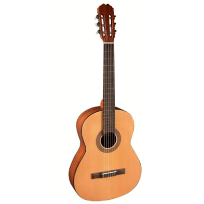 Admira Guitars Alba 4/4 Nylon String Classical Acoustic Guitar, Oregon Pine Top