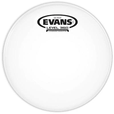 "Evans TT13MXF MX Frost Marching Tenor Drum Head - 13"""