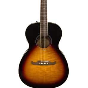 Fender FA-235E Concert Size Acoustic Electric Guitar in 3 Tone Sunburst for sale