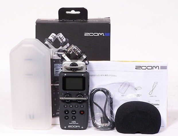 Zoom H5 Handy Recorder In Box | The Guitar Factory