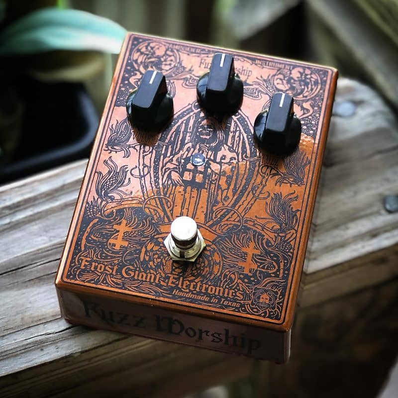 Frost Giant Electronics Saint of Sufferance Fuzz Effects Pedal