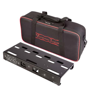 Voodoo Lab Dingbat Small Pedalboard Power Package w/ Pedal Power ISO-5, Gig Bag