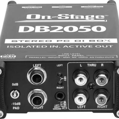 On-Stage DB2050 Active Multi-Media DI Box