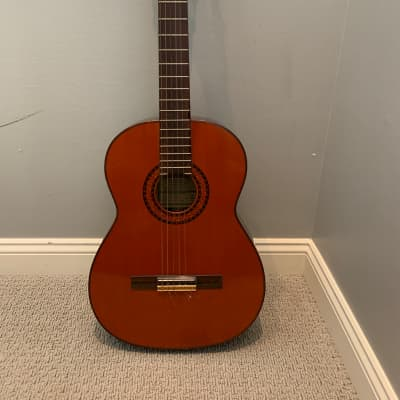 Hernandis Grade No. 2 1970 Handmade Classical Guitar with hard case for sale