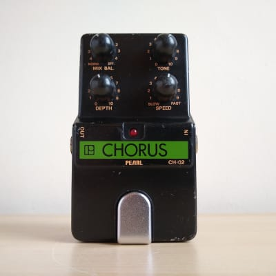Pearl CH-02 (CH02) Vintage Chorus Guitar Pedal, Made in Japan for sale