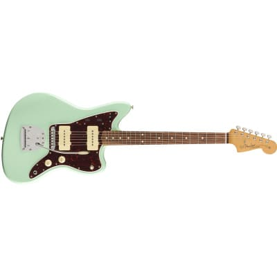 Fender Vintera '60s Jazzmaster Modified, Pau Ferro, Surf Green for sale