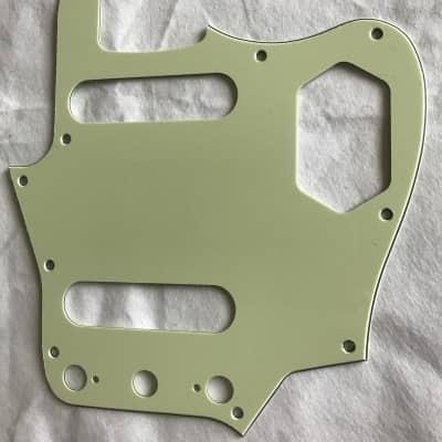 Custom Guitar Pickguard For US classic player jaguar Style,3 Ply Vintage Green