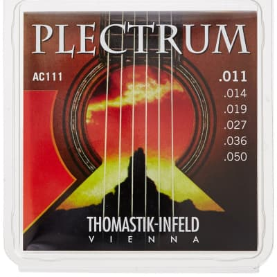 Thomastik-Infeld Plectrum Light Acoustic Guitar Strings 11-50
