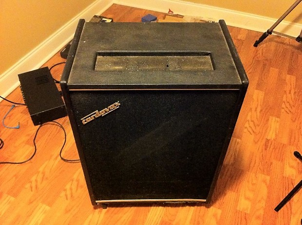 Vintage 1960s Cordovox CL-20 Leslie Rotary Speaker Cabinet | Reverb