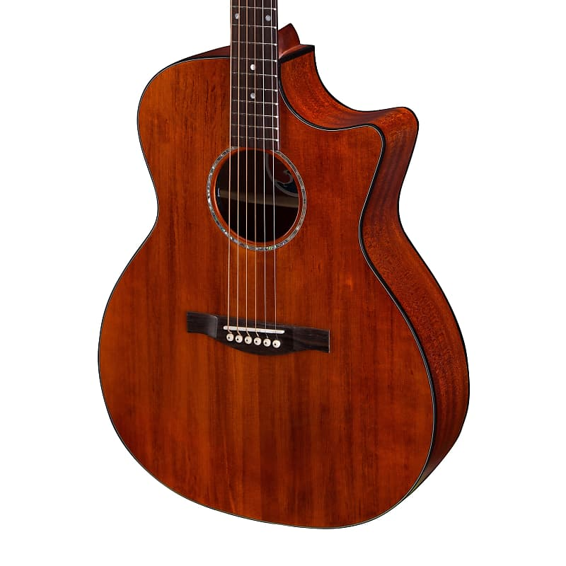 Eastman PCH1-GACE-CLA Solid Top Grand Auditorium Cutaway Acoustic Electric Guit