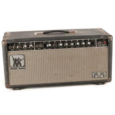 Music Man HD-130 Reverb 2-Channel 130-Watt Guitar Amp Head 1974 - 1979