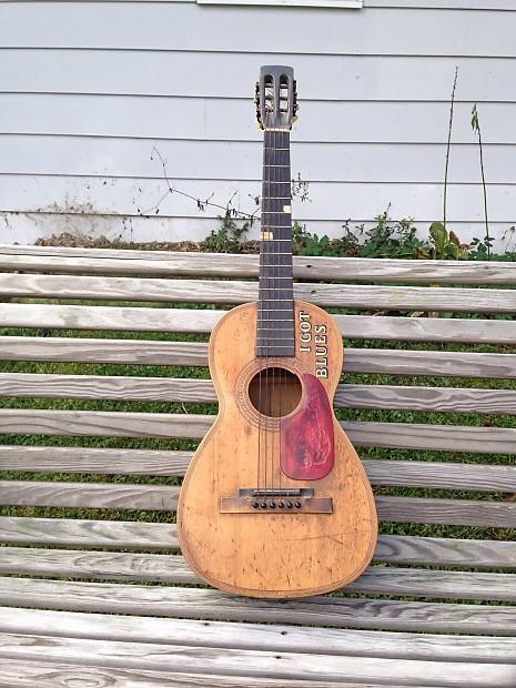 Blues Acoustic guitar 1920's vintage rare   | Hyppodiarytus