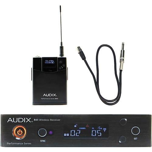 audix ap41 performance series single channel guitar wireless reverb. Black Bedroom Furniture Sets. Home Design Ideas