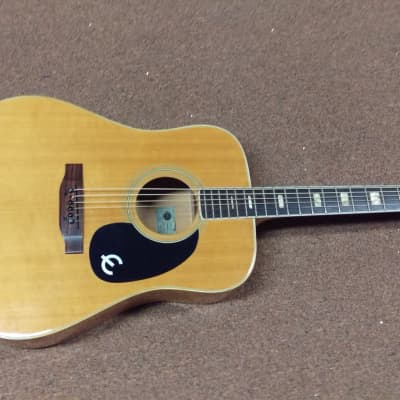 Epiphone FT 350 BL 1970s natural maple for sale