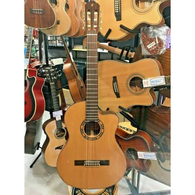 SHOP EX DEMO Freshman 'MFBC' Electro Acoustic Classic.Solid Red Cedar Top for sale
