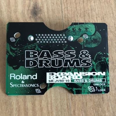 Roland SR-JV80-10 Bass and Drums Expansion Board (Warranty)