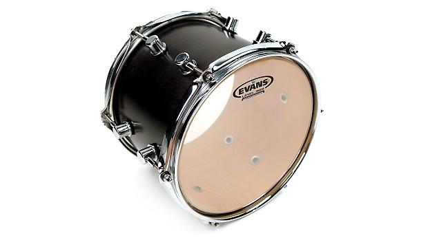 evans 16 inch g2 clear drum head tt16g2 2 ply tom batter top reverb. Black Bedroom Furniture Sets. Home Design Ideas