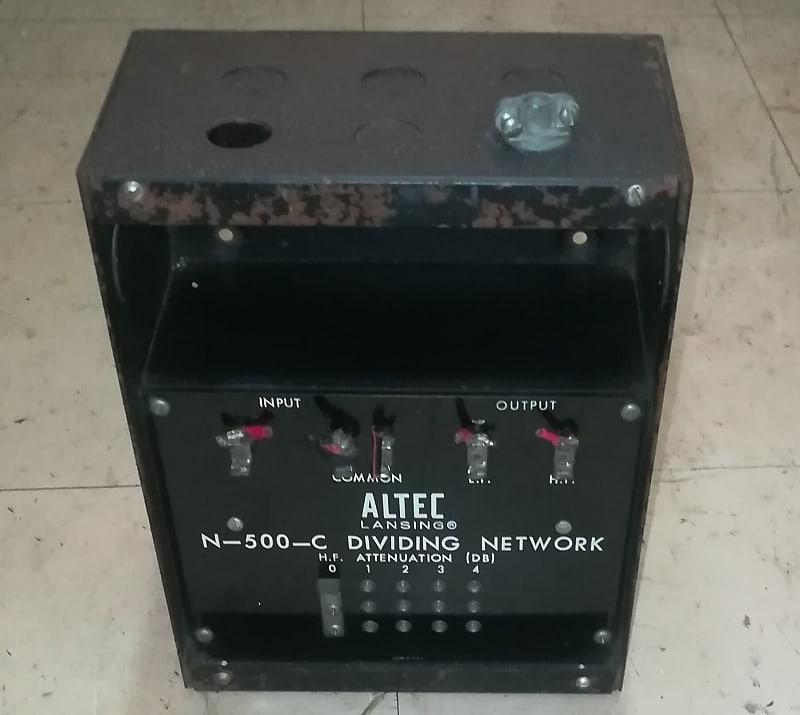 1 x Altec N-500-C Hollywood Vintage Crossover/Dividing Network from VOTT  Speaker systen  Working ok