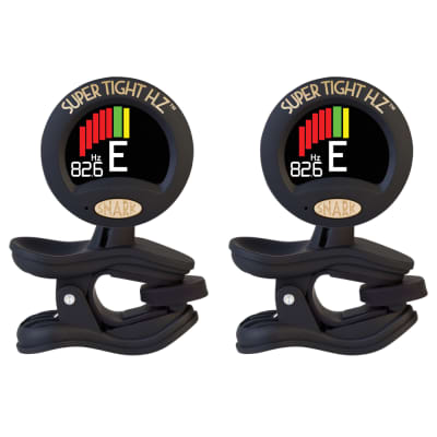 2 Pack Snark ST-8HZ Super Tight All Instrument Clip On Tuner with Hertz Accuracy