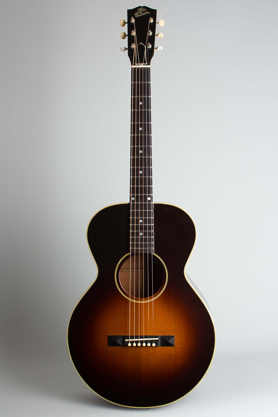Gibson  L-1 Flat Top Acoustic Guitar (1991), ser. #92731022, original brown tolex hard shell case.