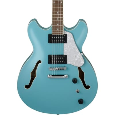 Ibanez AS63-MTB Artcore Vibrante 6 String RH Semi-Hollowbody Electric Guitar-Mint Blue